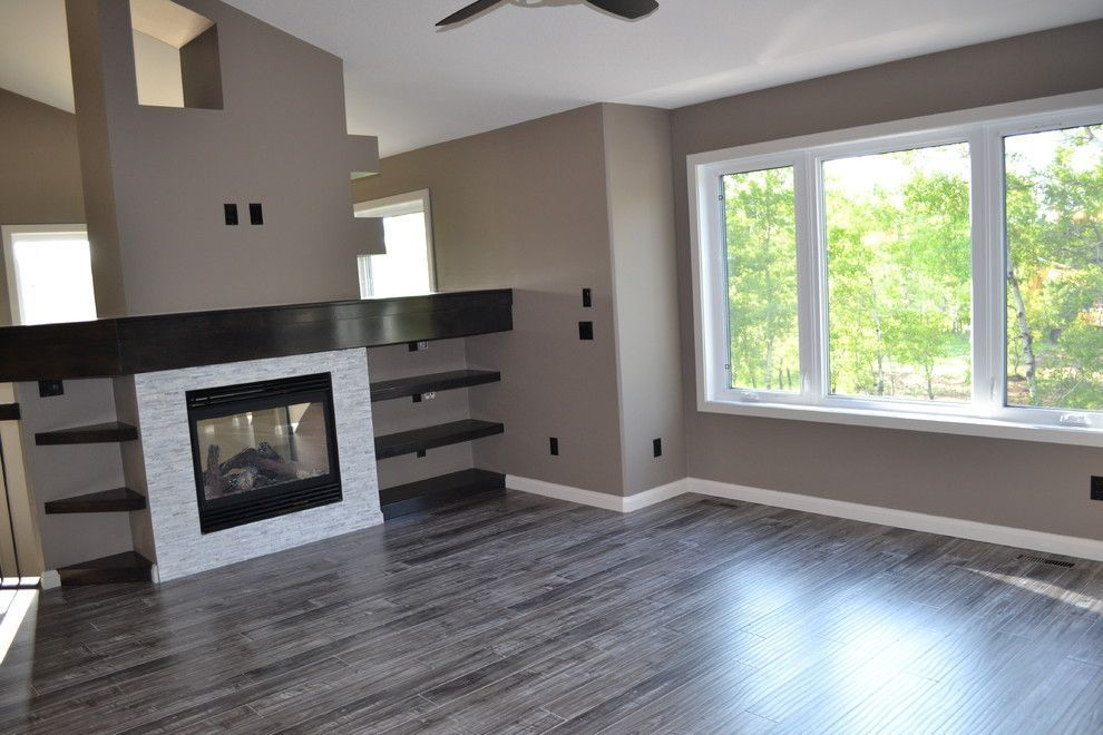 Chic Armstrong Laminate Flooring In Living Room Contemporary With
