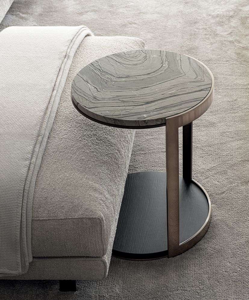 New Materials Coffee Table Contemporary Furnishings Metal Structure [ 995 x 827 Pixel ]