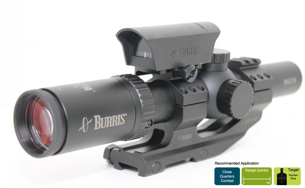 Burris Mtac Fastfire Kit 1 4x24 Scope Fastfire Ii Reflex Sight