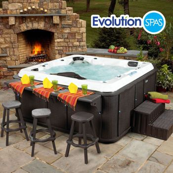 Costco: Evolution Spas™ Signature Salt Water 6-Person, 110-Jet Spa