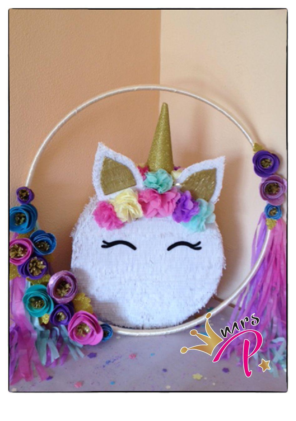 Aro Marco para #Photocall #Piñata #Unicornio #fiesta #cumpleaños ...