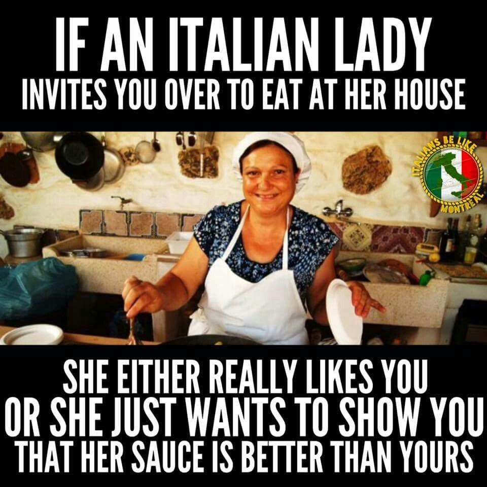 An Italian Lady Italian Joke Funny Italian Jokes