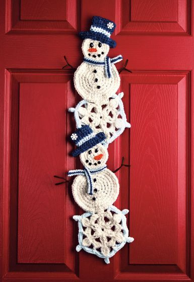 Photo of Snowman and Snowflake Wall Hanging