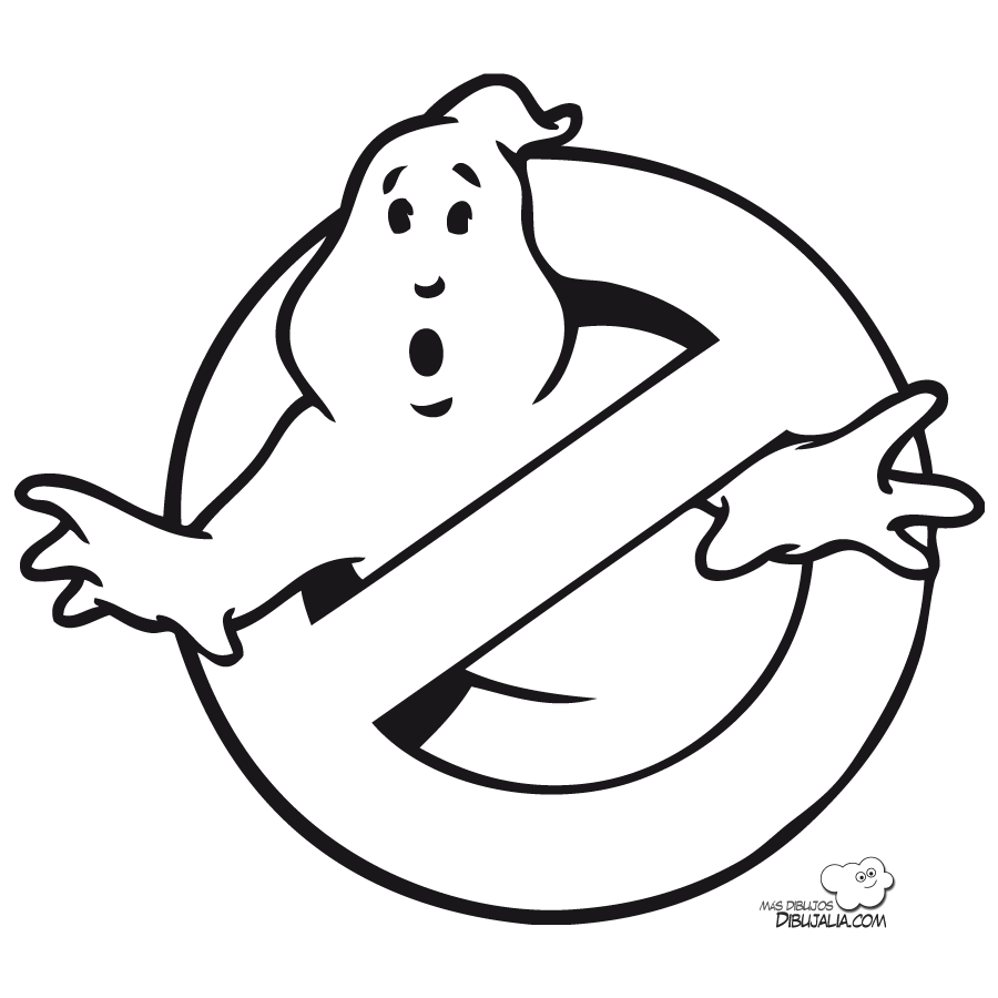 Image result for ghostbuster coloring page | HTGAWHoochin\' | Pinterest