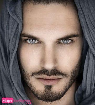 Hombre Guapo Con Barba Y Ojos Claros Bellezas Exoticas Fotos De