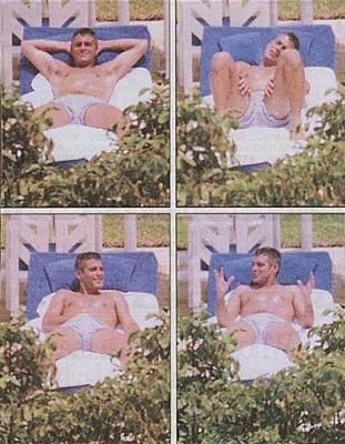 George clooney naked and nude