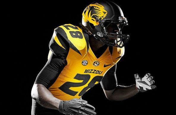 best loved 232de d6044 PHOTOS: Missouri unveils new Nike football uniforms | Funky ...