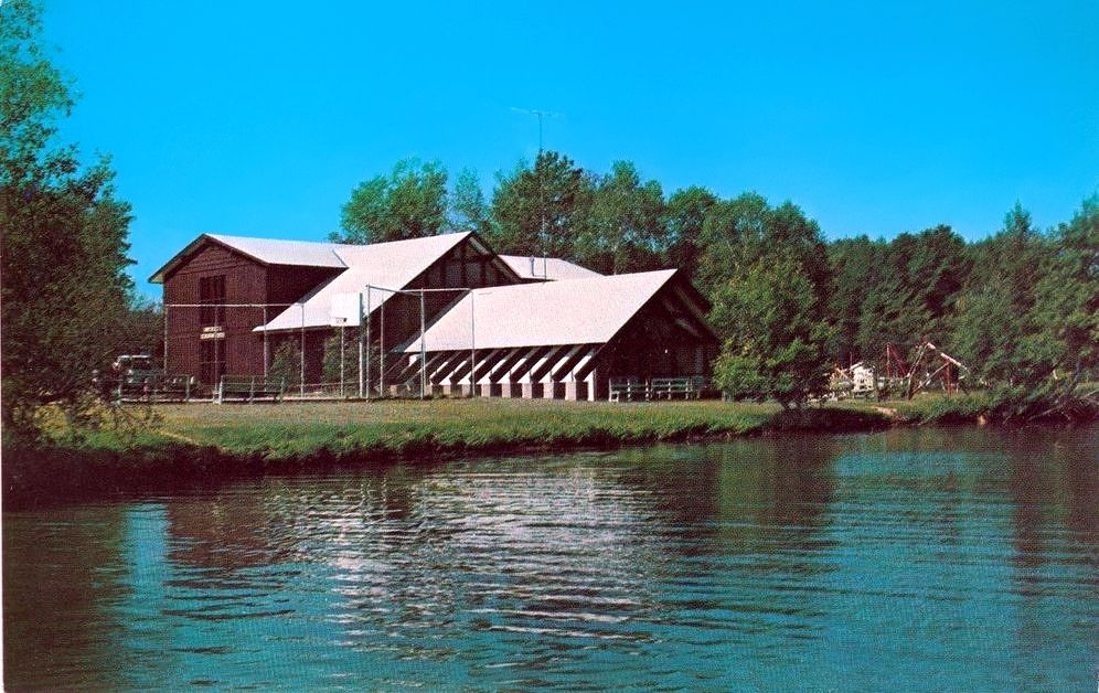 Madden Lodge on Gull Lake near Brainerd, Minnesota (With