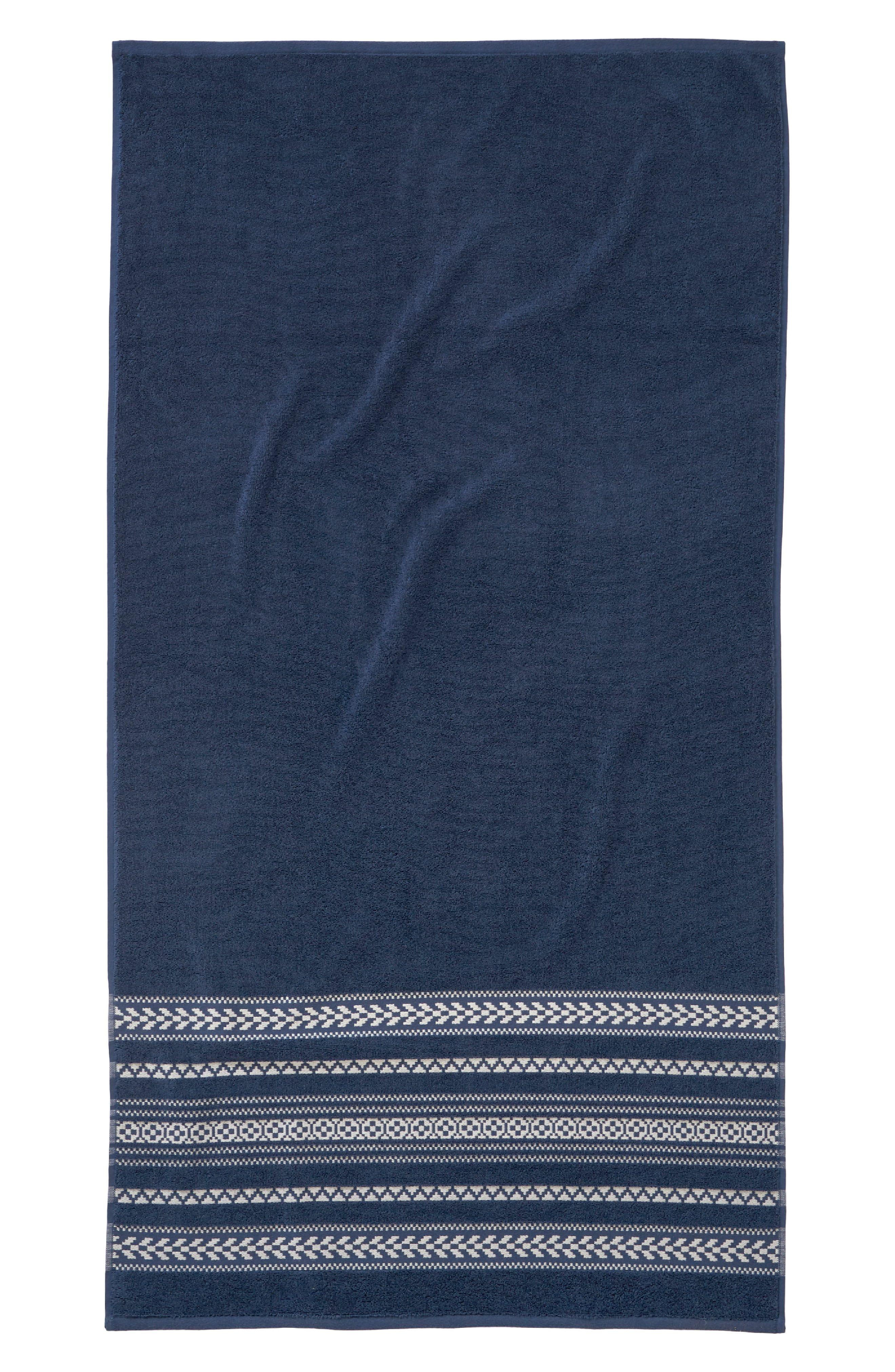 Pendleton Bohemian Fair Isle Bath Towel Size One Size Grey
