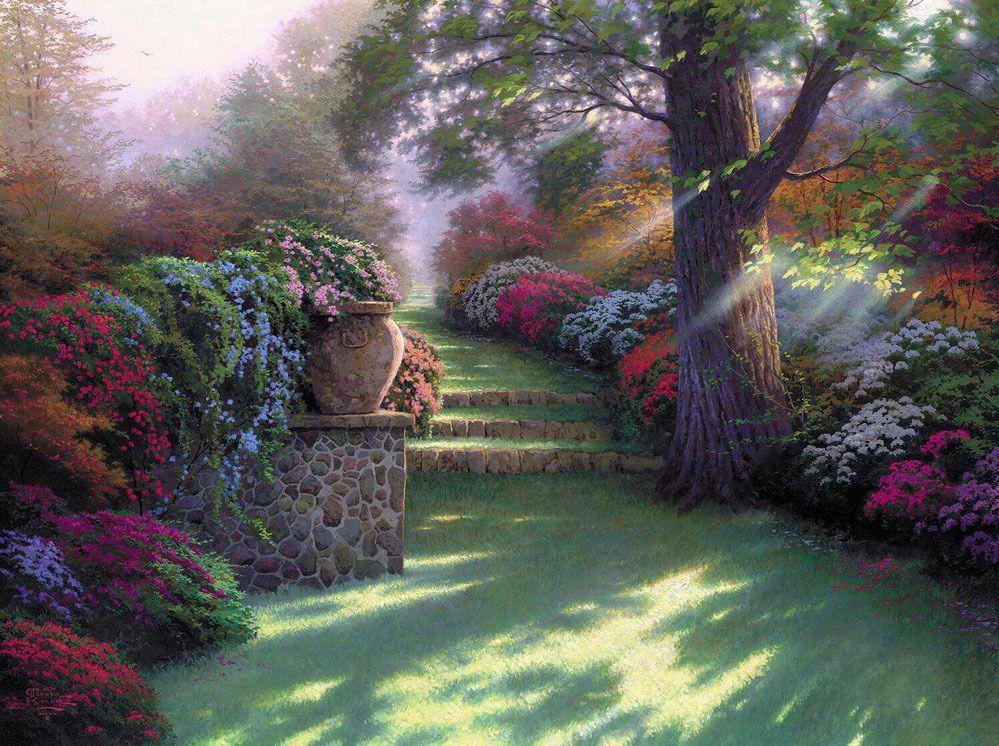 Божественный сад картинки