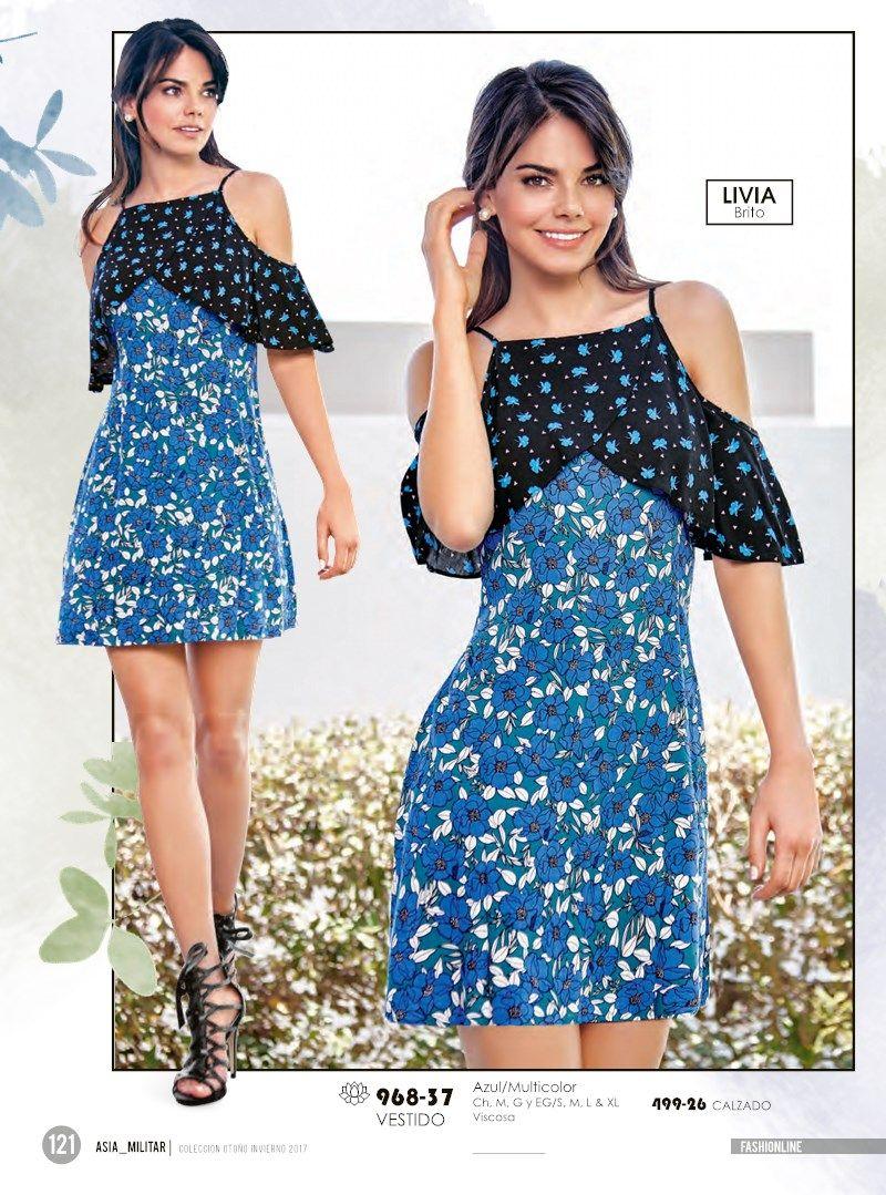 f9094ab4 Catalogo Cklass Ropa Fashionline Otoño Invierno 17 | Vestidos de ...