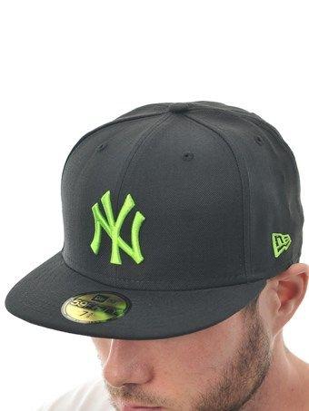 4b315b73d4c New Era Black Lime Seasonal Basic MLB New York Yankees New Era Cap ...
