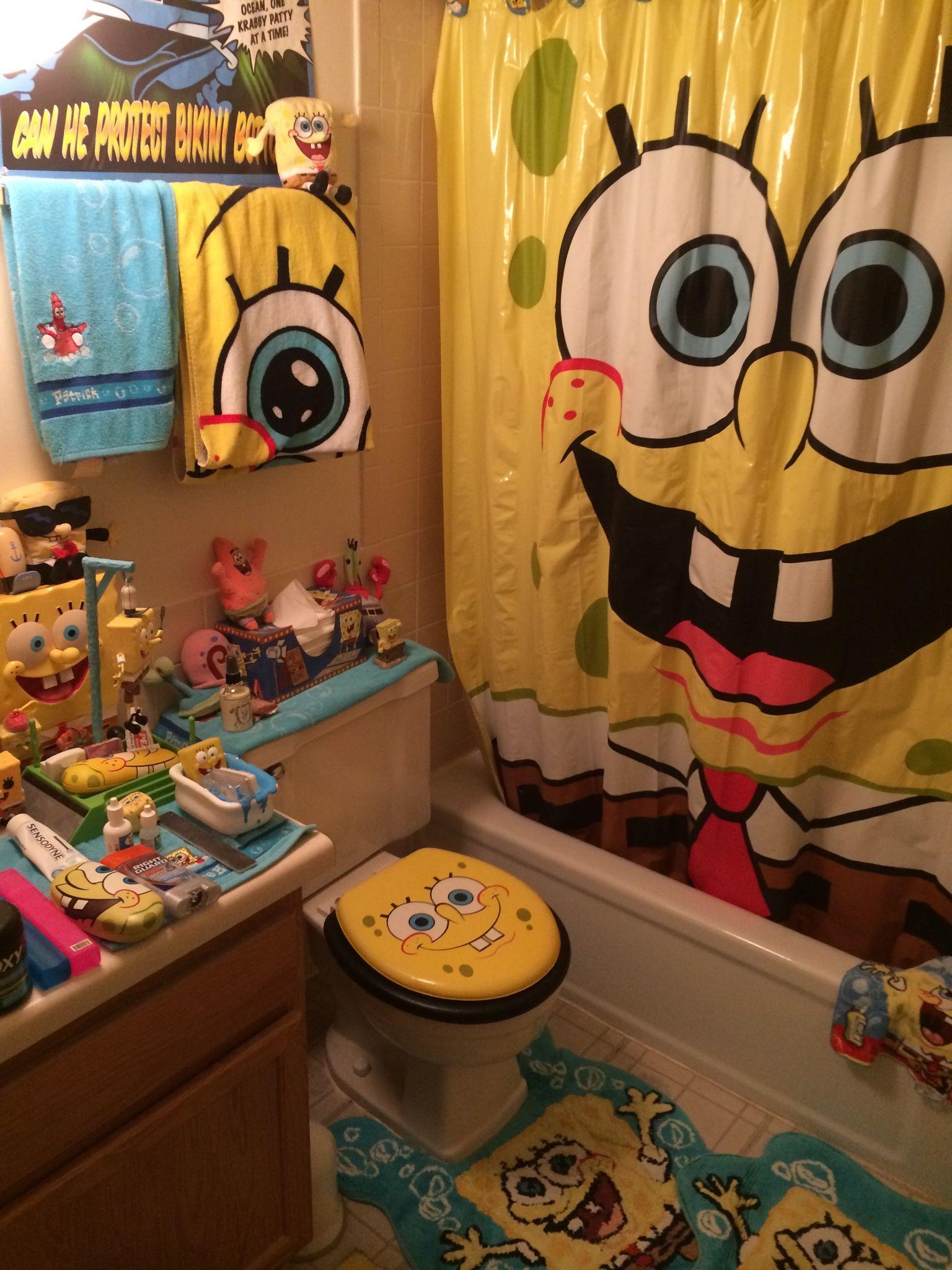 spongebob bathroom 1 spongebob