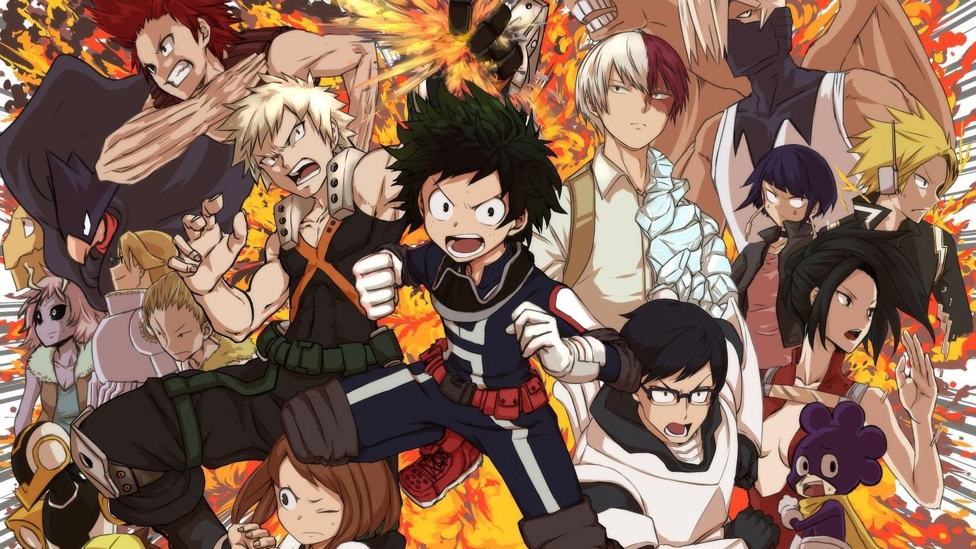 My Hero Academia Wallpapers Wallpaper Cave My Hero Academia Dual Monitor Wallpaper Anime Wallpaper