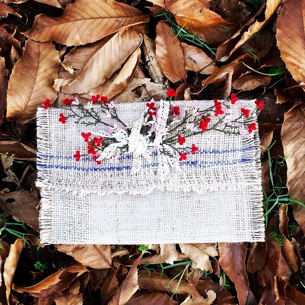Cartera de mano Handmade & Natural