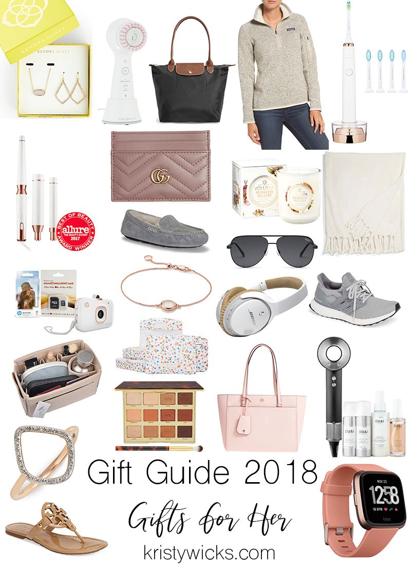 Gift Guide For Her 2018 Christmas Gifts Kristywicks Com Christmas Gifts For Girlfriend Girlfriend Gifts Christmas Gifts For Mom