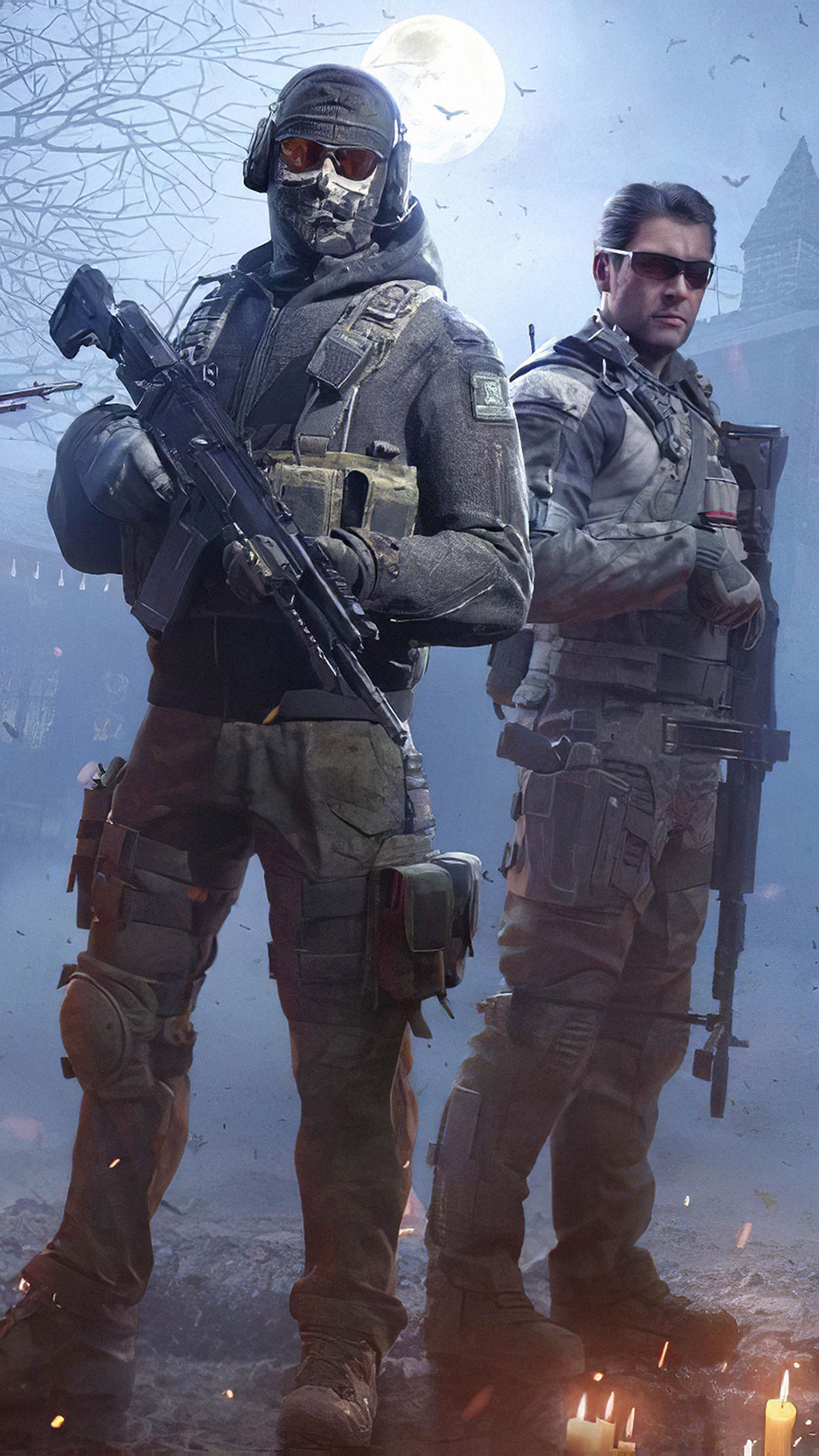 Squad Call Of Duty Mobile 4k Ultra Hd Mobile Wallpaper In