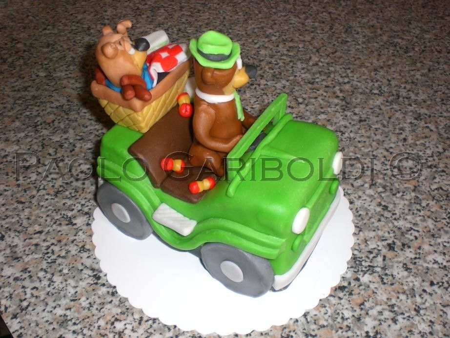 Yogy & Boo boo's cake