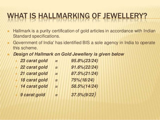 c DS jewerly marking Awareness on gold jewellery jewelry