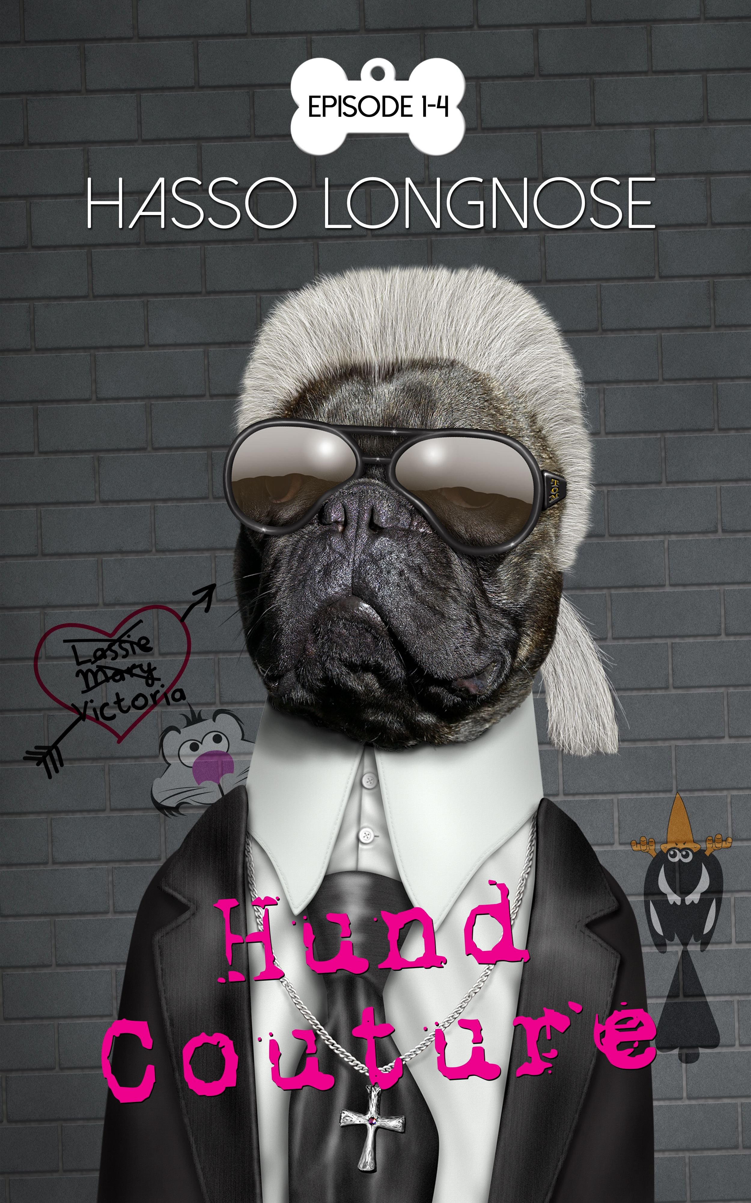 "Hasso Longnose: ""Hund Coutire"" (Selfpublisher)"
