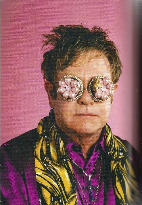 2ae92cff4f Sir Elton John wears Mercura — with Yohji Yamamoto