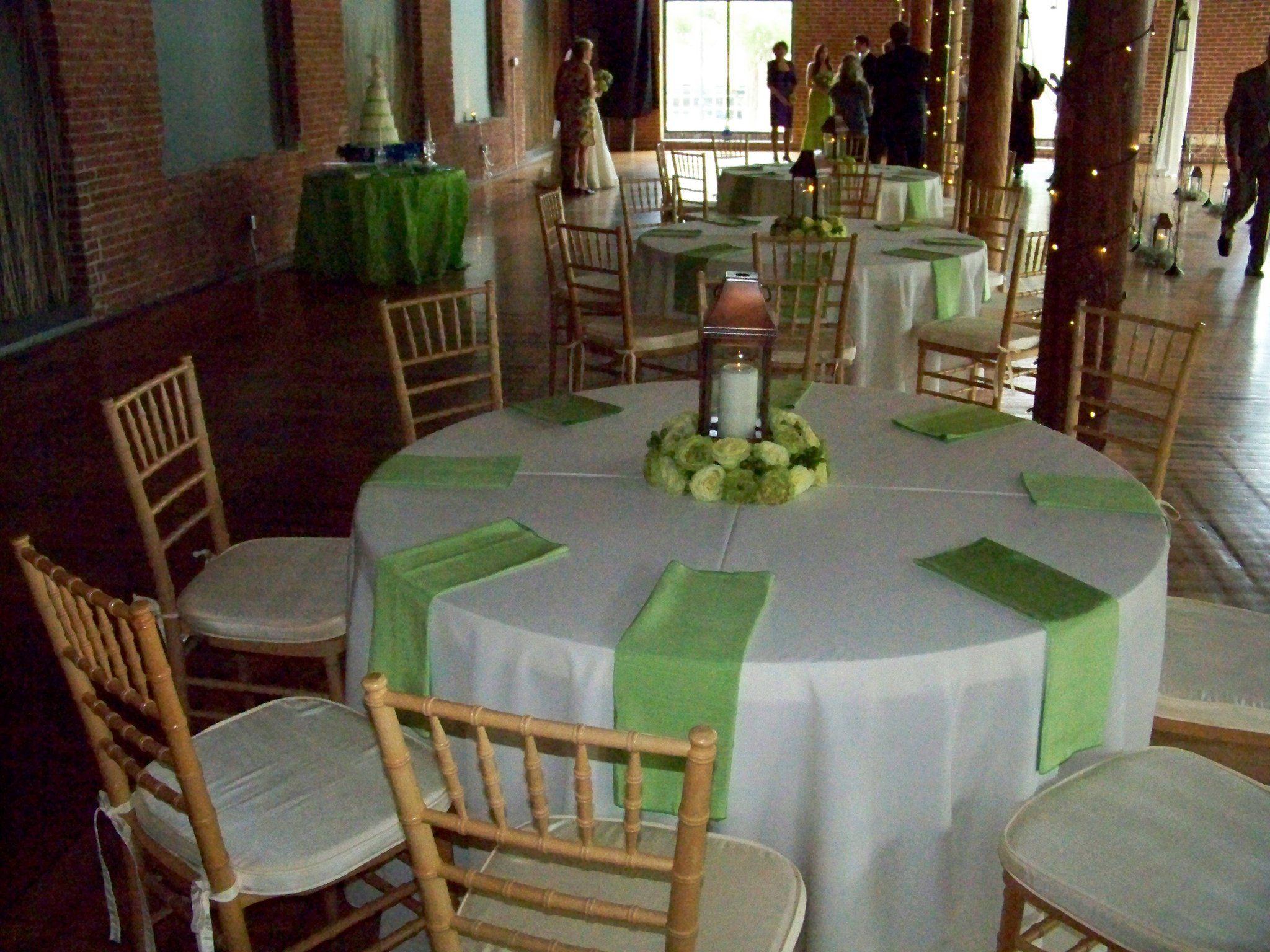 Wedding ideas with lanterns  Lantern centerpiece and cloth napkins  Wedding Idea Stuff