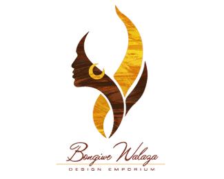 Bongiwe Walaza Logo By Brandon Barnard African Logo Logo Design Creative Elegant Logo Design