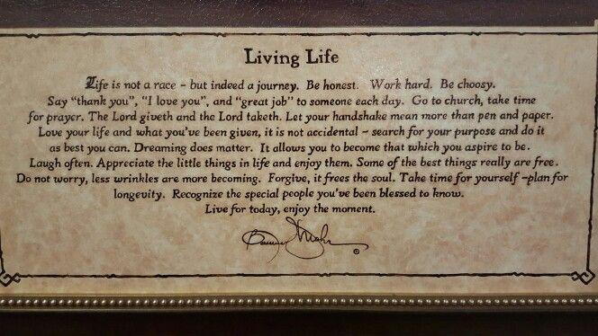 Bonnie Mohr   Living Life
