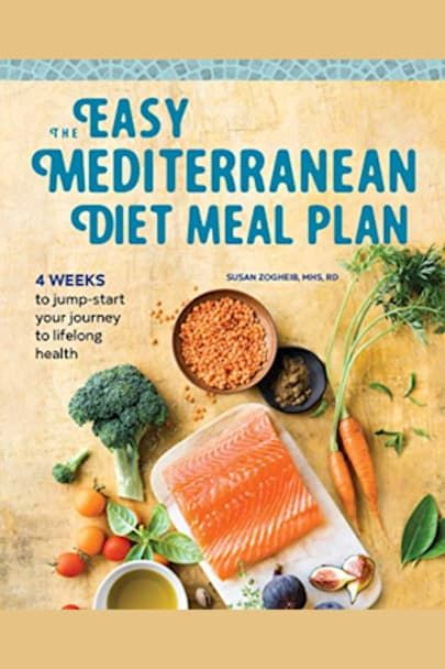 The Easy Mediterranean Diet Meal Plan by Susan Zogheib - BookBub