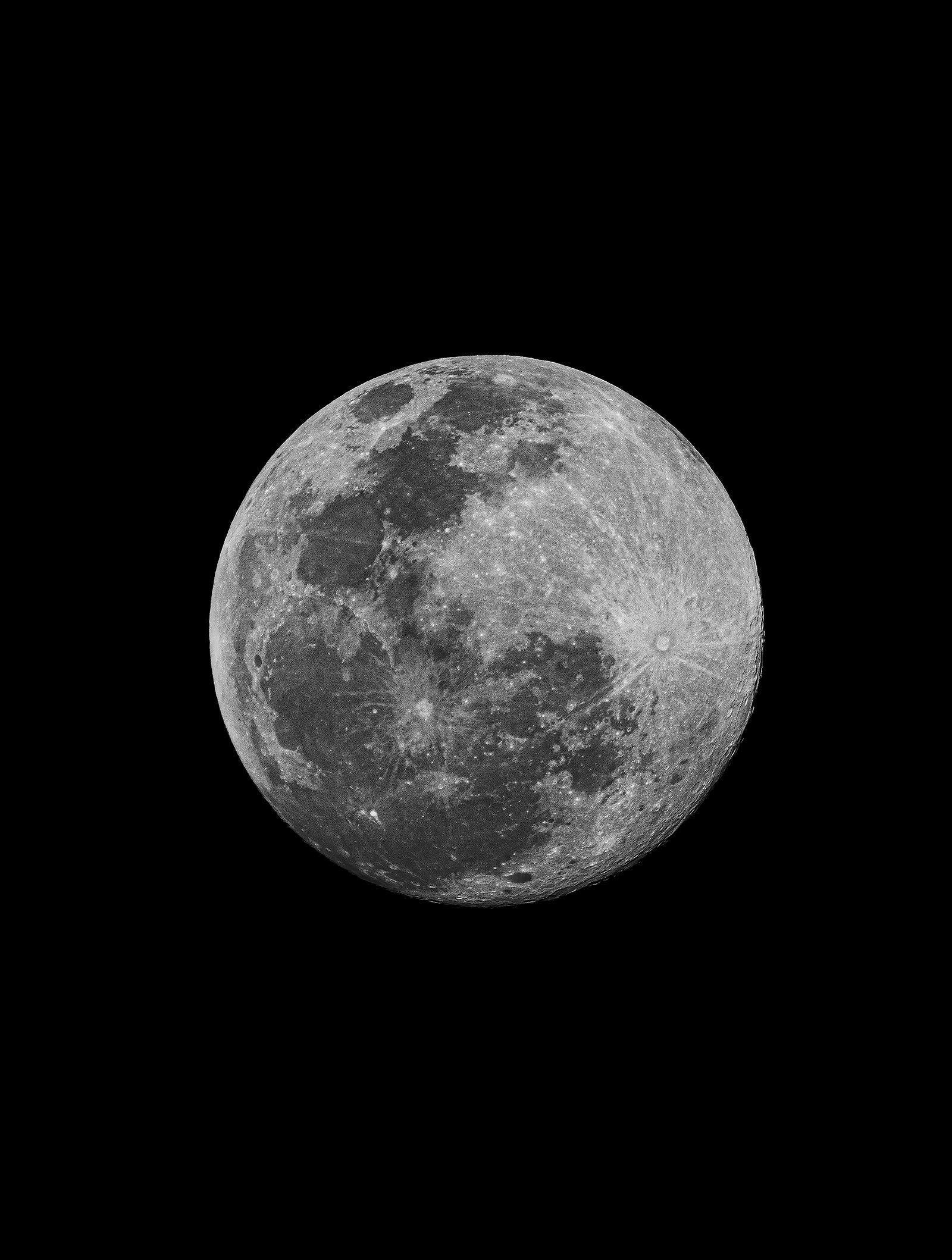 Moon over Miami - 24x36in - 60x91cm