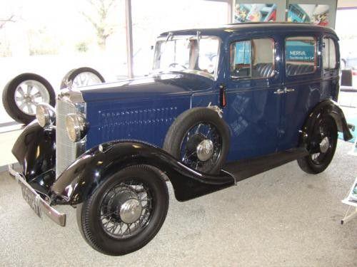 Vauxhall Light Six ASX 14hp 1934
