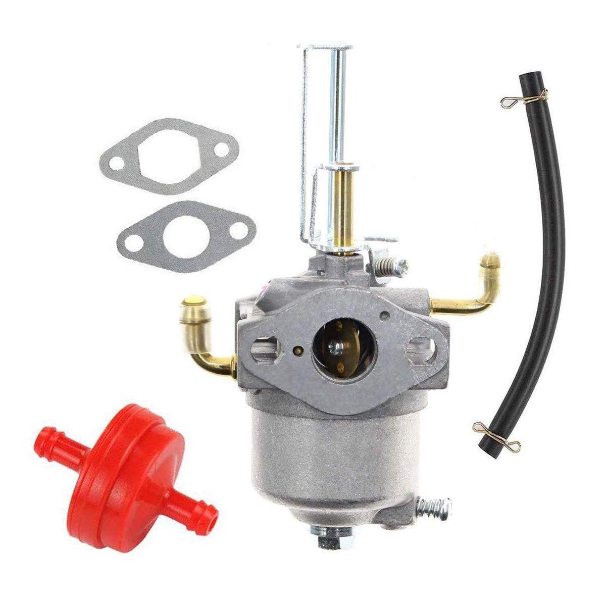 hqparts carburetor carb and fuel filter for carburetor for toro 38587 38272 38282 38452 snow blower [ 1200 x 1200 Pixel ]