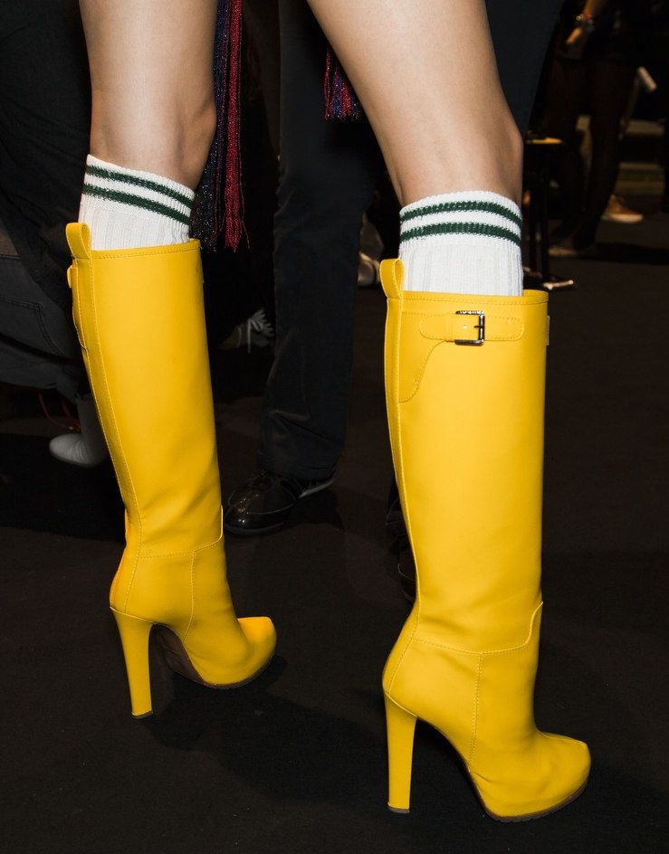 High heel rain boots but I would rather have another apart from ...