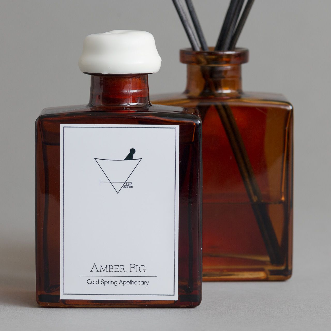 Amber Fig Reed Diffuser 5oz. Cold Spring Apothecary