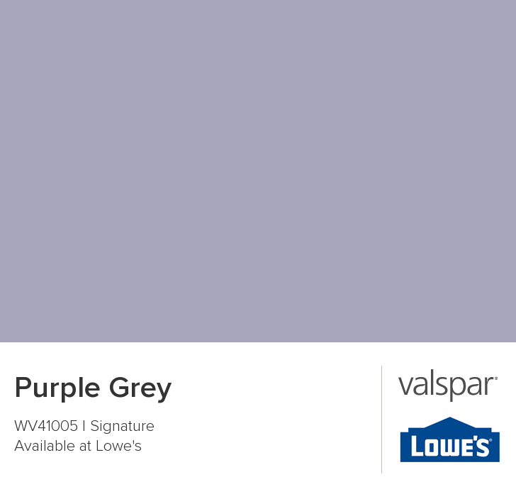 Purple Grey From Valspar For The Bathroom Valspar Paint Colors Purple Paint Colors Purple Grey Paint Color