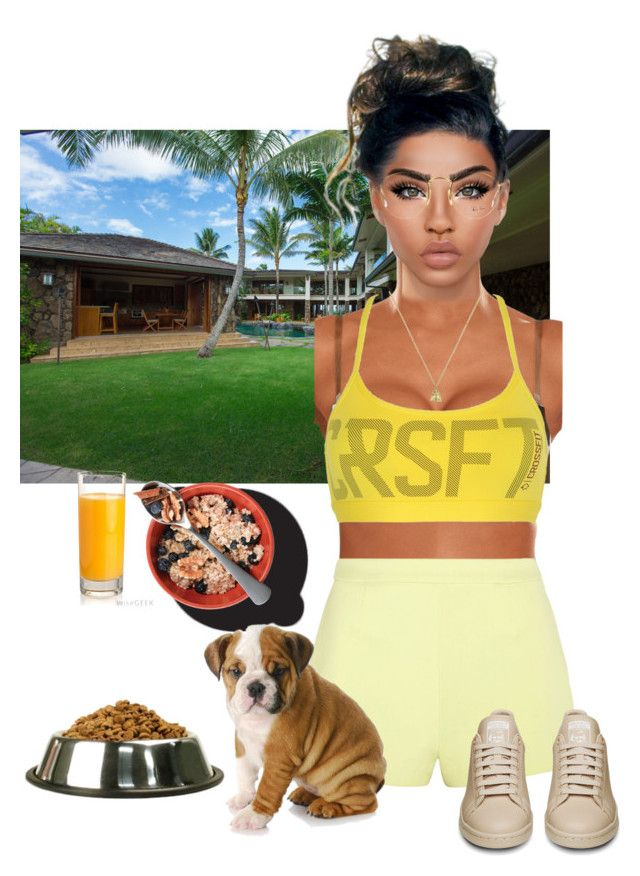 """""""LesAnges"""" by deeplove111 ❤ liked on Polyvore featuring Reebok, T By Alexander Wang, Gucci, Ray-Ban and NYX"""