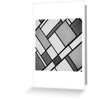 Square Cloth Texture 2BW Greeting Card