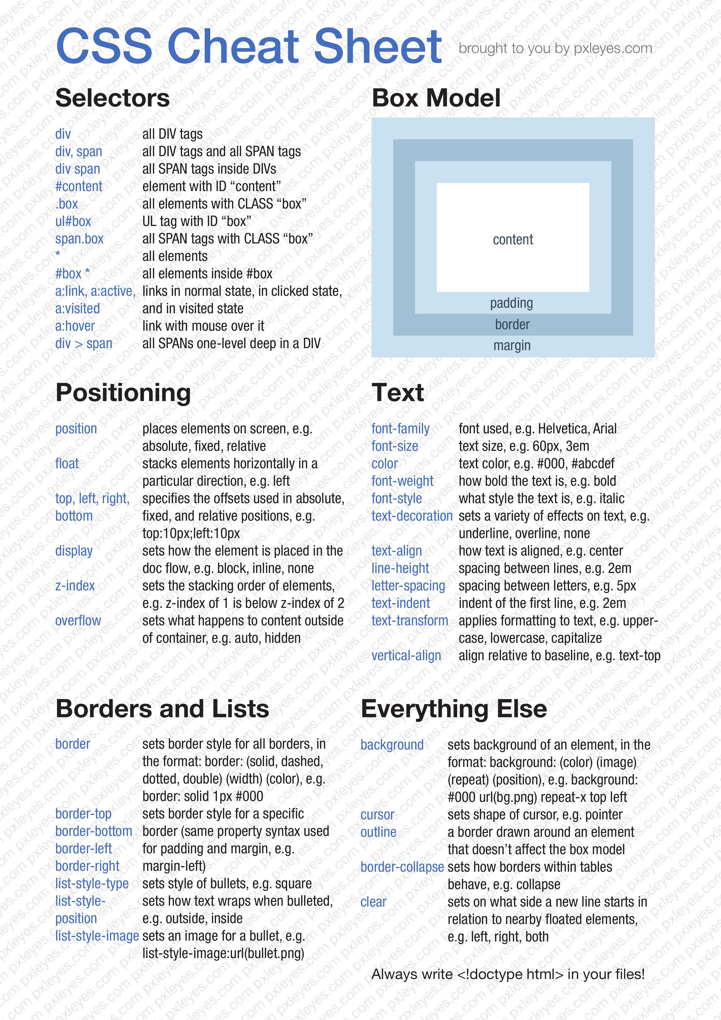 http status codes cheat sheet pdf