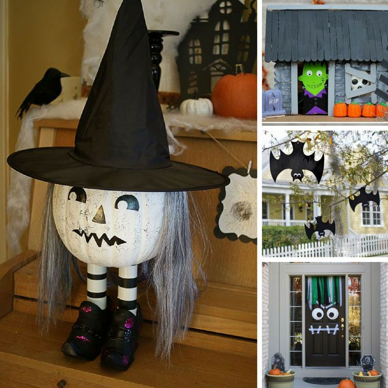 Turn Your Home Spooky with These Easy Halloween Decorations for Kids - halloween decorations to make at home for kids