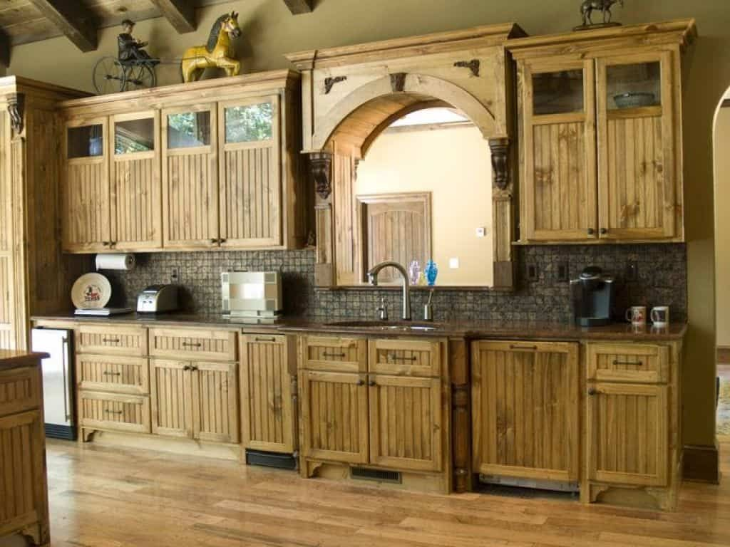 Durable Pine Kitchen Cabinets Rustic Kitchen Pine Kitchen Cabinets Rustic Kitchen Cabinets