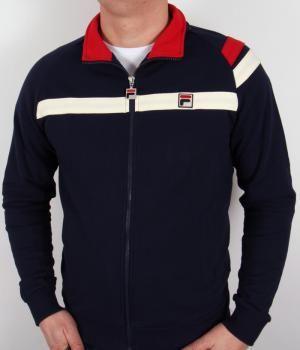 fila sweatshirt vintage, Fila ROB Tracksuit top black
