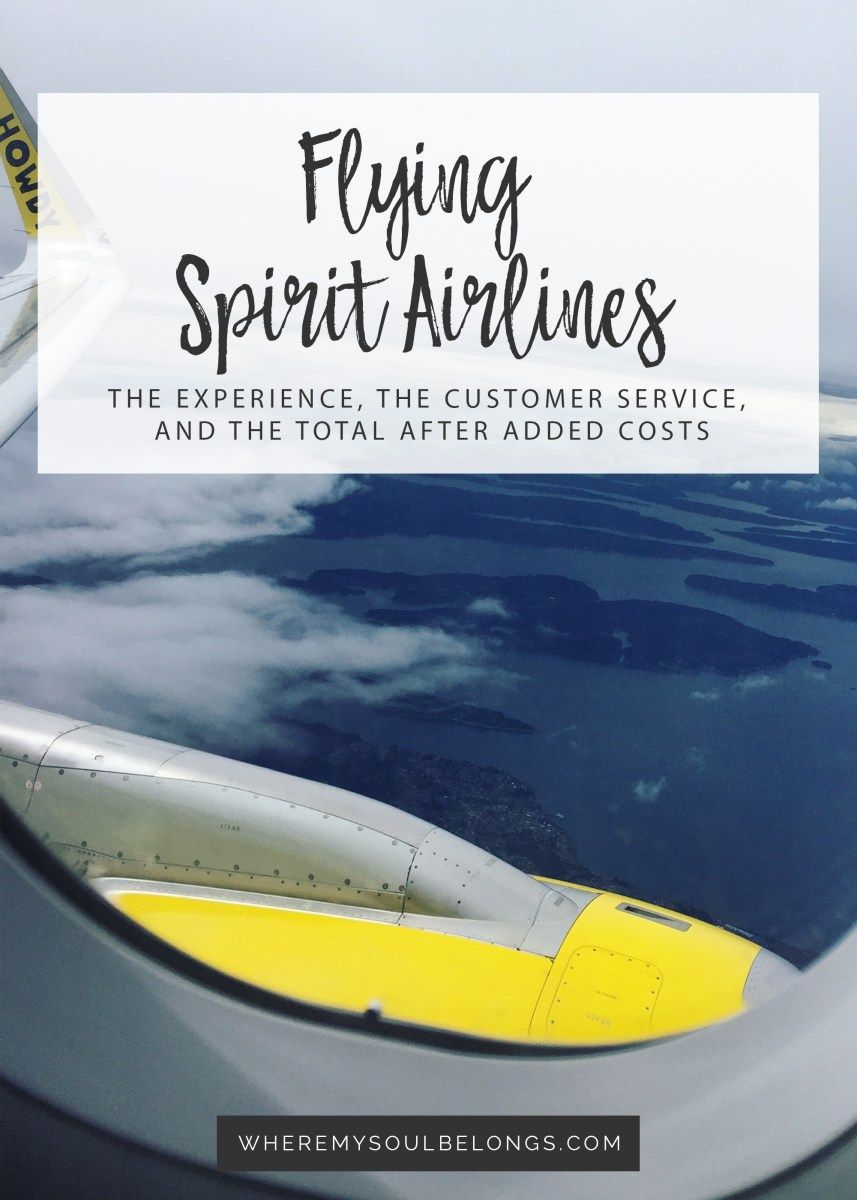 Flying Spirit Airlines Review & A Giveaway! Airline