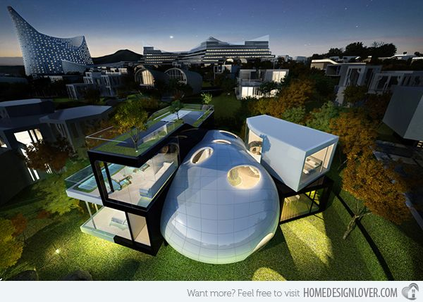 15 Unbelievably Amazing Futuristic House Designs