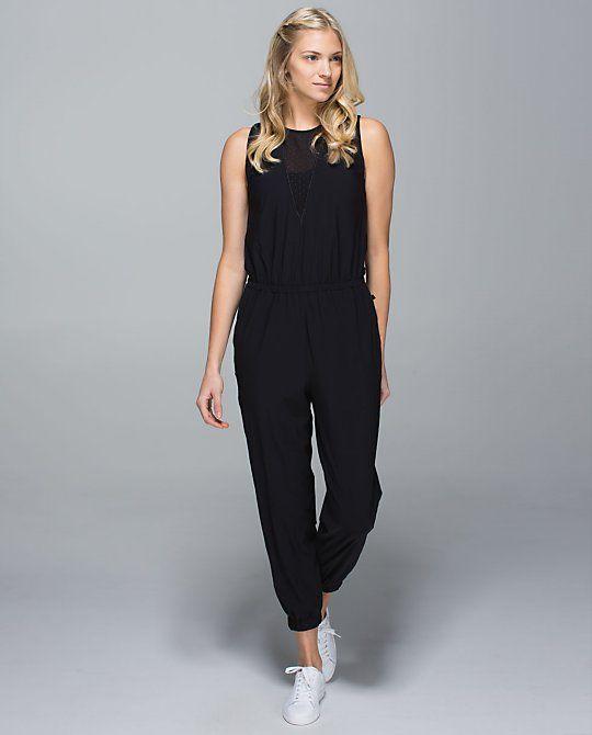 15d47d53e7 Party Onesie, Black, Size 6 Lululemon Dress, Athletic Pants, Lululemon  Athletica,