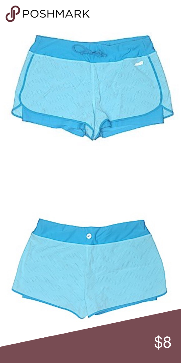 Avia Shorts | Light Blue Has built in spandex. Avia Shorts #lightblueshorts