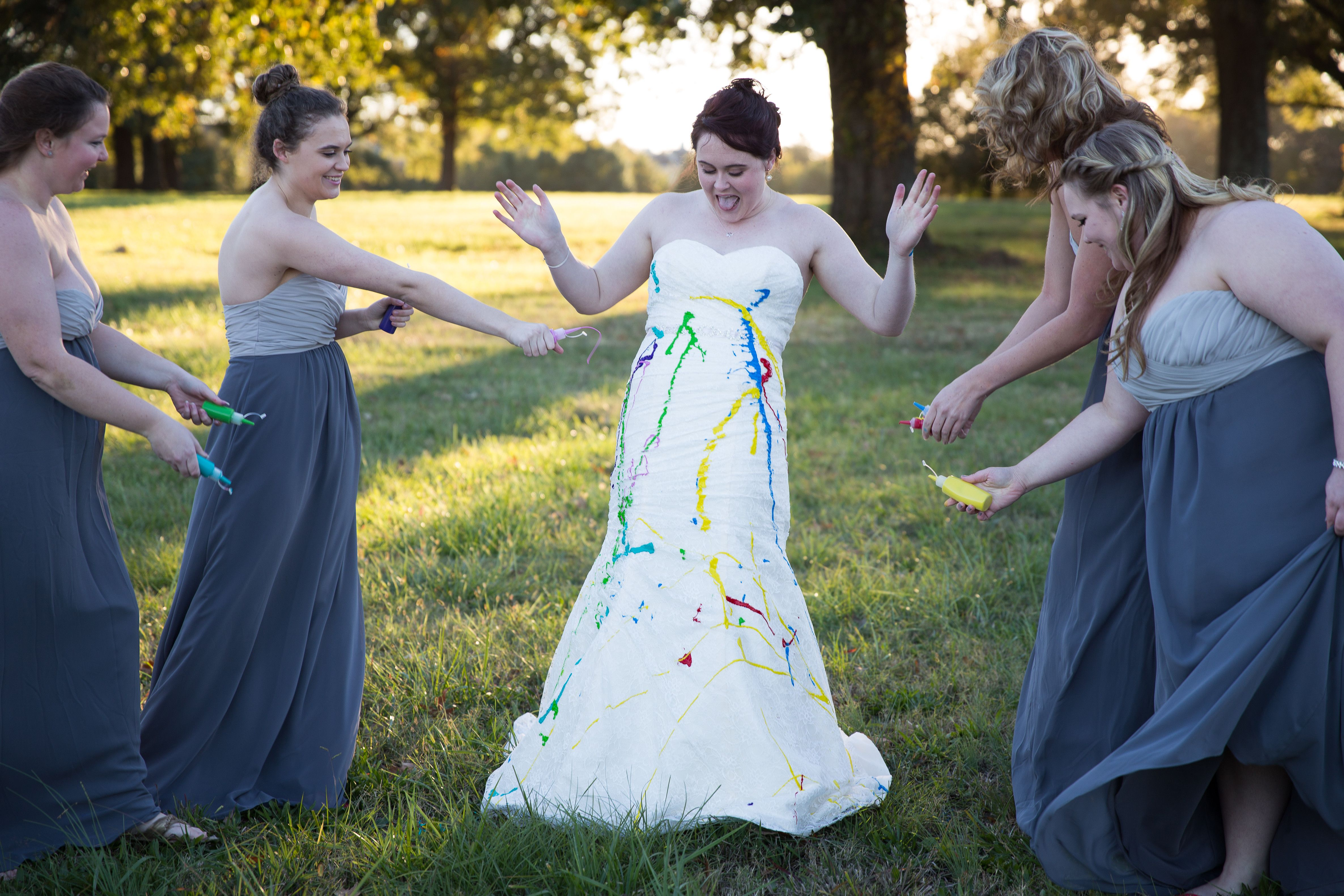 Bride Trashes Gown In Badass Photoshoot After Her Fiance Called Off The Wedding