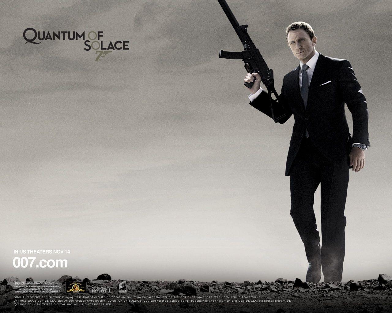 James Bond #007 Quantum of Solace movie ...