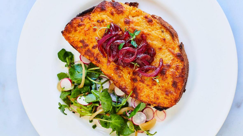 Tom Kerridge's recipe for Welsh rarebit