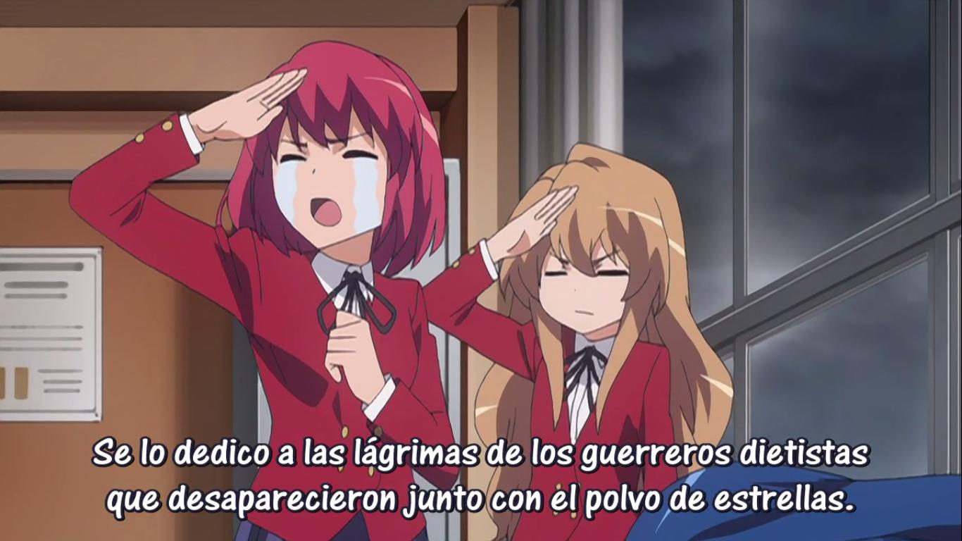 Toradora Troppo divertente, Anime, Giapponese