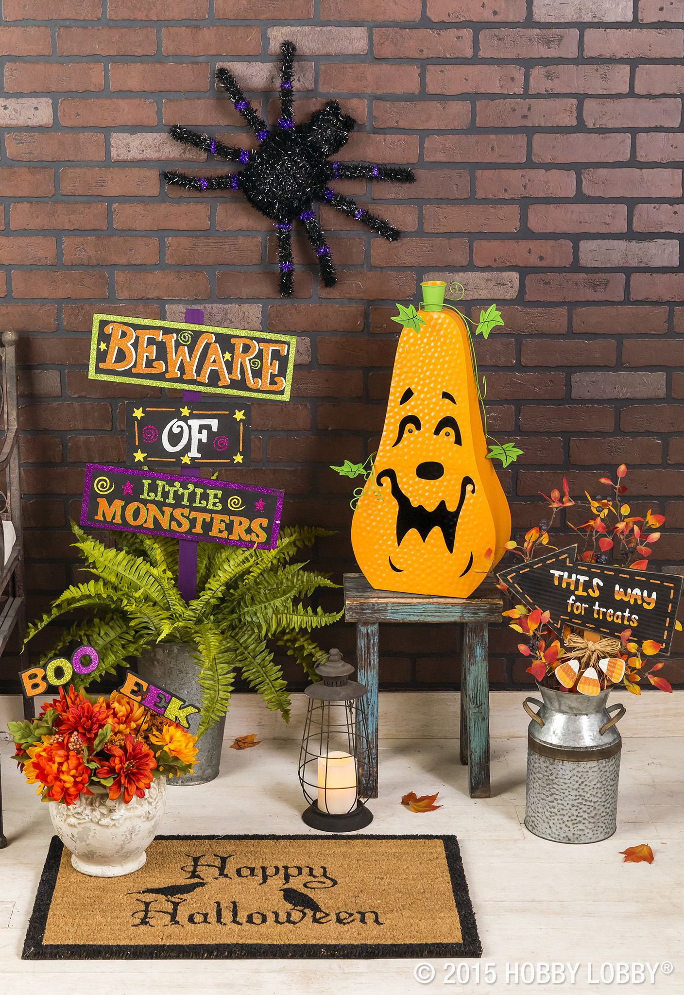 Treat yourself to a trick-free porch this Halloween! Halloween - Hobby Lobby Halloween Decorations